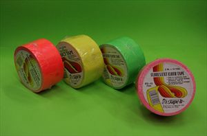 Cinta Duct Tape - Fluo