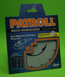 Disco de corte diamantado - 412 - PATROLL